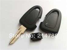 Hot sell 1 button remote key shell for Fiat car key cover key shell key fob wholesale and retail