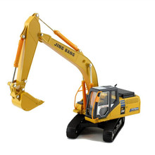 1:50 Excavator Construction Vehicle Alloy Truck Diecast Metal & ABS Model Car Toys For Children Boys Brinquedos Kids Toys Gift