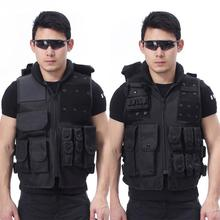 Hunting Tactical Vest Military Airsoft Molle Carrier Vest Outdoor Training Field Battle Waistcoat CS Training Combat Uniform