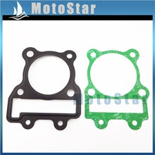 Chinese Motorcycle YX150 160 Engine Parts Cylinder Head Gasket Kit For YX 150cc 160cc Pit Dirt Motor Bike Pitmotard Motocross(China)