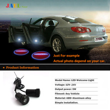 LED Door welcome light courtesy led car laser projector Logo Ghost Shadow Light Case For Maserati LED Logo light(China)