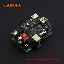DFRobot 100% Genuine X600 Expansion Board for Raspberry Pi B+ / 2 Model B / 3 Model B / Raspberry pi Music Player(China)