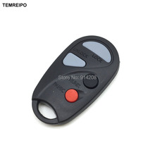 TEMREIPO 20pcs/lot Keys for Nissan Maxima 3+1 buttons remote case car key case teana key with battery holder(China)