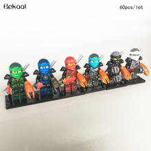 62017 New Blades Time Ninjagoe Lloyd KAI COLE ZANE JAY NYA figures sword building Blocks toy child 10053-10058 - Pust Toys Club store