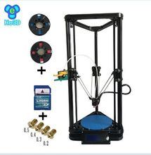 he3d auto level single K200 delta  diy 3d printer kit- support multi material filament new design high precision high quality