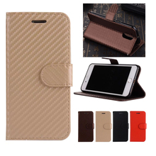 Flip Case Vintage Carbon Fiber wallet cellphone shell Card Holder Stand Case for For Motorola Moto G4 G4 Plus