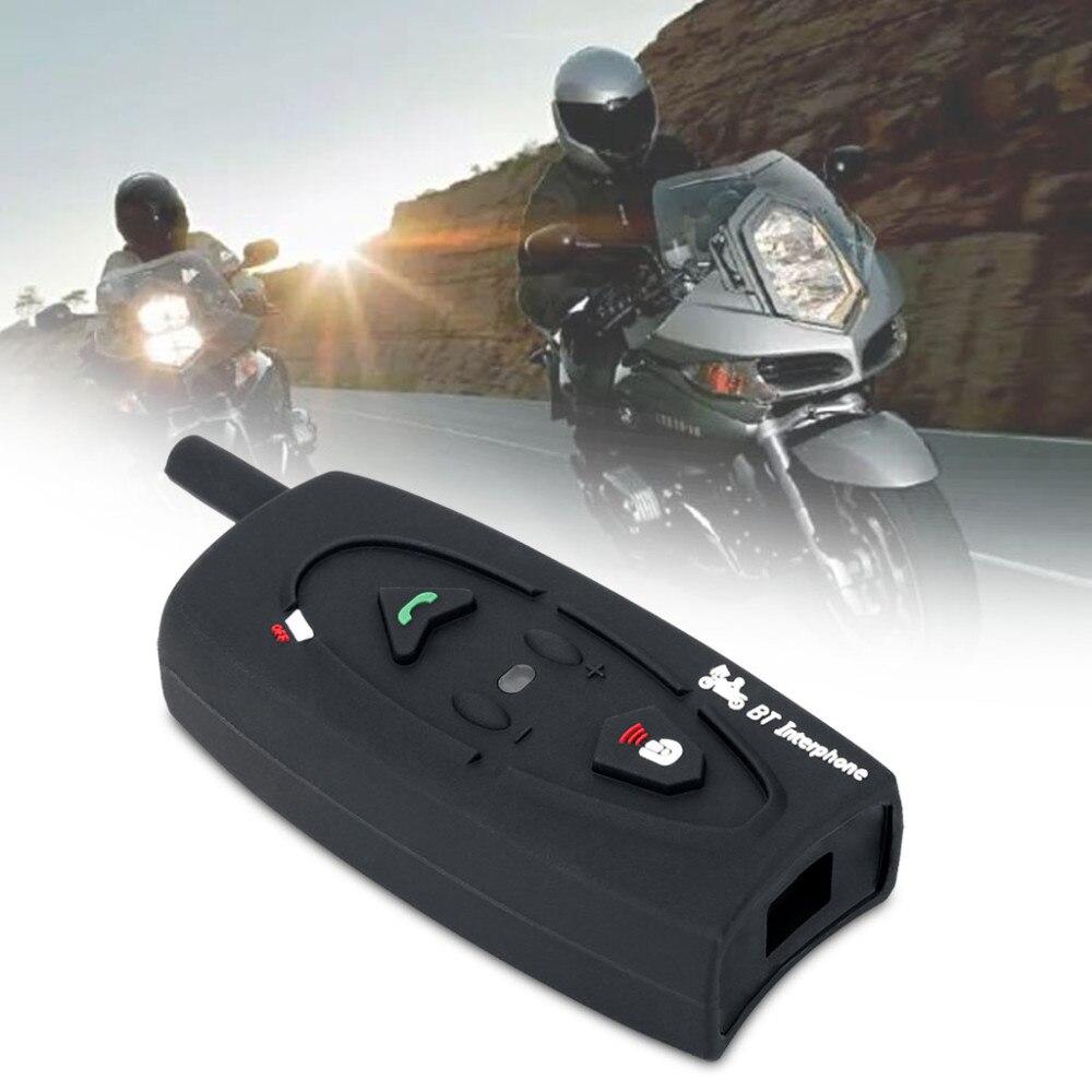 VNETPHONE 500M BT Bluetooth Motorbike Helmet Intercom Interphone Motorcycle Helmet Intercom Wireless Headphones for 2 Riders