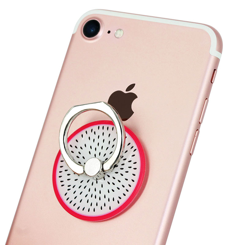 KOC2971G_1_Fruit Series Universal Metal Finger Ring Stent 360 Degree Rotation Buckle Stent Mobile Phone Holder Stand for iPhone Samsung HUAWEI Xiaomi ZTE BQ Highscreen