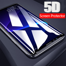 5D Tempered Glass Xiaomi Pocophone F1 Screen Protector Redmi Note 6 Pro Glass Xiomi Mi A2 Lite 5 Plus 6A 8 Max 3