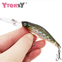 1Pcs 9.5cm 7g Wobblers Fishing Tackle 3D Eyes Minnow Fishing Lure Swim Crank Bait 6# hook fishing tackle YE-247