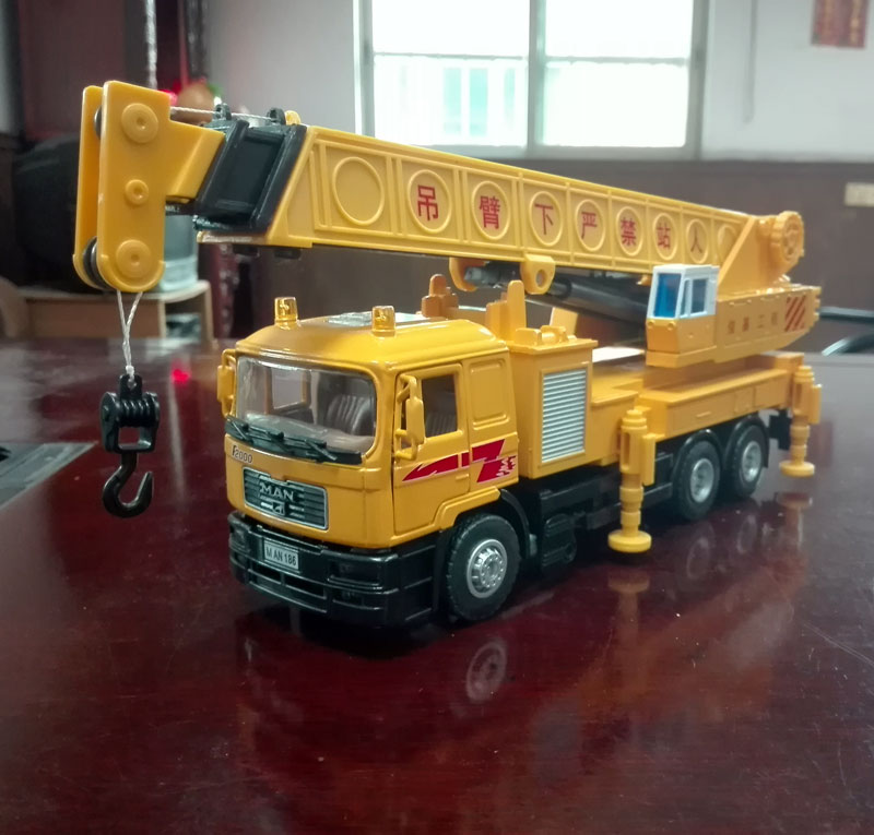 Brand New JOYCITY 1/40 Scale Truck Model Toys Germany MAN Heavy Duty Crane Diecast Metal Car Toy For Gift/Kids/Collection(China (Mainland))