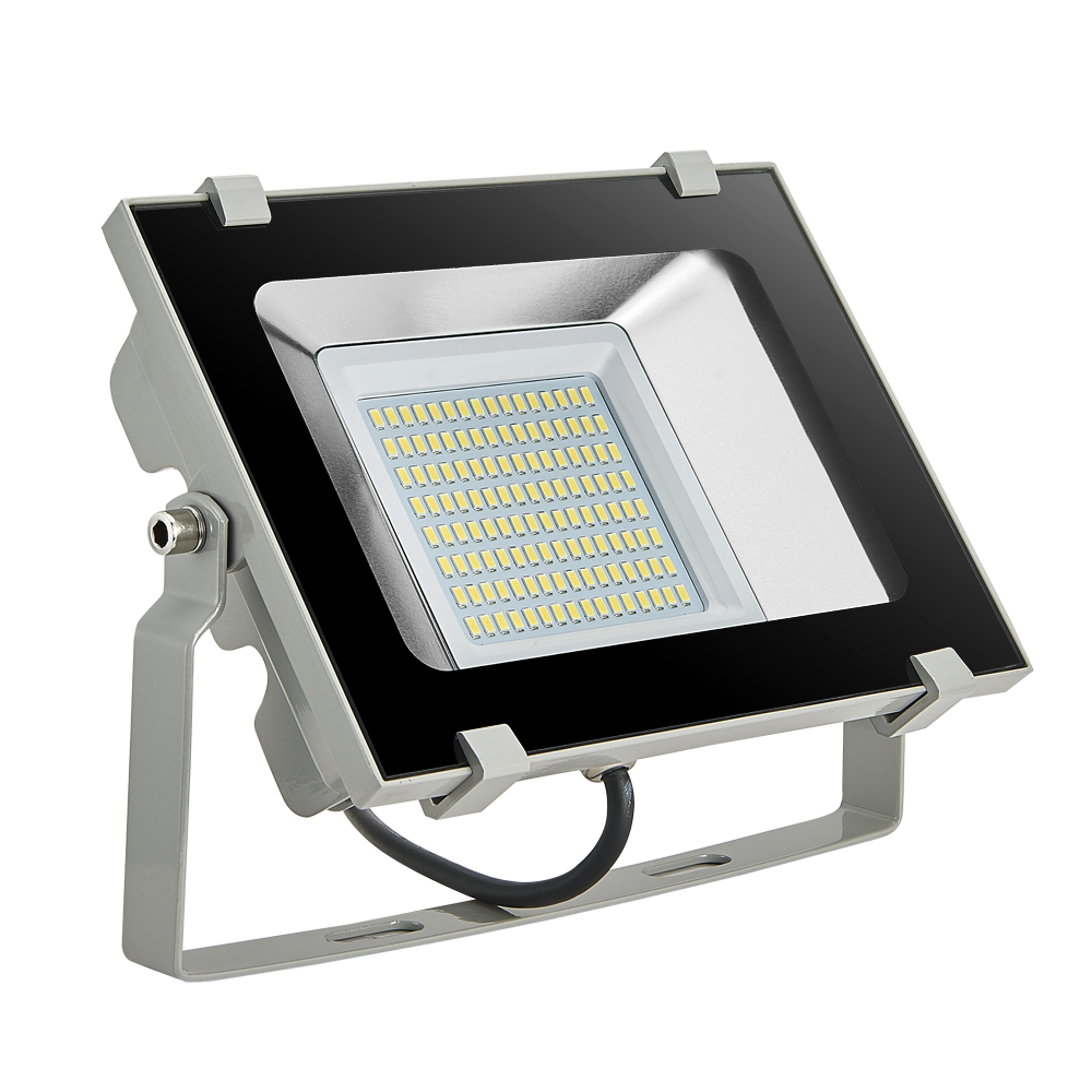 Led Floodlights Outdoor Light 50W 220V 6000LW 128 LEDs SMD 5730 IP65 Waterproof 5th NEW Square Wall Billboard Flood lights<br><br>Aliexpress