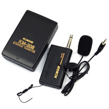 2017 New High Quality Mini Wireless Lapel Clip-On Microphone System Mic Set Conference Microphone Multi-Microphone Kits(China)