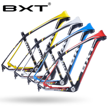 2017 BXT brand T800 carbon mtb frame 29er mtb carbon frame 29 carbon mountain bike frame 142*12 or 135*9mm bicycle frame(China)