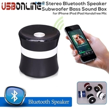 Mini Portable Bluetooth Speaker Wireless Stereo Speakers With Microphone FM Radio TF Slot Music Player For iPhone iPad ipod
