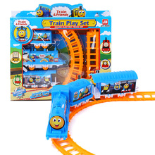 Interesting children toy, train assembling track, train model, children intelligence education toy, train model toy(China)