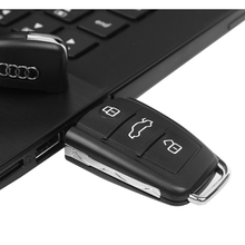 NEW Model for Audi USB Flash drive 128GB 64GB 32GB 16GB 8GB 4G racing car key usb memory wholesale 1th high speed 64 GB