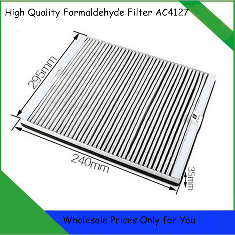 24*29.5*3.5cm Air Purifier Parts AC4127 Air Filter Replacement for Philips AC4025 AC4026<br>