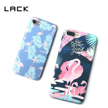 Buy LACK Colorful Flamingo Phone Cases iPhone 7 7 Plus Hard Cartoon Animal Ostrich Case iphone7 Banana Leaves Cover for $2.55 in AliExpress store