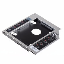 SATA 2nd HDD HD Hard Drive Caddy Case For 9.5mm Universal Laptop CD/DVD-ROM BG(China)