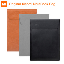 "Original Xiaomi Laptop Sleeve Envelope Bag Fiber/ Leather Case for Macbook Air 11 12 inch Xiaomi Notebook Air 12.5"" 13.3"" Cover(China)"