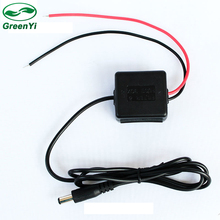 GreenYi DC 12-30V To DC 12V 5A Car Voltage Converter Box For Auto LCD Monitor and Rear View Camera Parking Video System