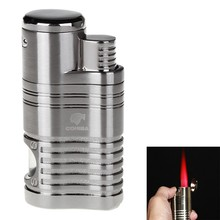 High Quality COHIBA Scorch Torch Dominator Jet Flame Butane Gas Windproof Torch Cigarette Cigar Lighter