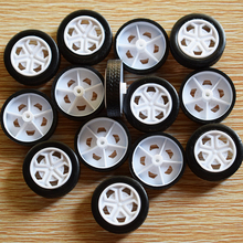 30pcs / toy rubber wheel /26*2mm/ simulation wheel / DIY model toy accessories / rc car accessories/hot wheel/baby toys