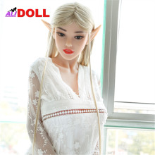 Most Beautiful 168cm Fairy Elf Real Silicone Sex Dolls Metal Skeleton Sex Doll Real Doll Sex Toy Rubber Woman Oral Anal Vagina