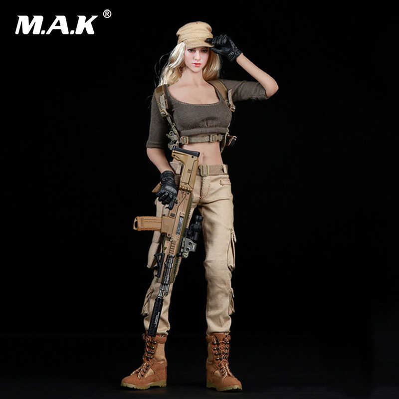 1//6 Female Combat Suit Outfit Set Costume Clothes F PH Doll No Figure
