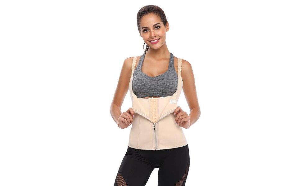 Waist Trainer Neoprene Waist Trainer Body Shaper Slimming Woman Body Corset Vest Shapewear Weight Loss Waist Shaper Plus Size (11)
