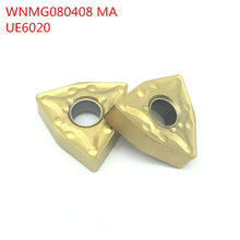 20pcs WNMG080408 MA UE6020 External Turning Tools Carbide inserts Cutting Tool CNC Tools Lathe cutter tools(China)