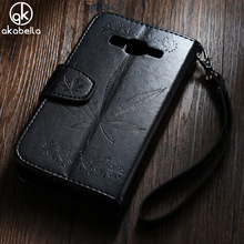 Buy AKABEILA Phone Case Cover Samsung Galaxy J2 Prime Grand Prime 2016 SM-G532F Maple Leaf PU Leather Back Cover Phone Bag Case for $4.70 in AliExpress store