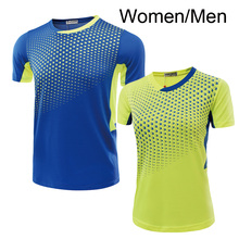 Free Print Tennis t shirt Men / Women , Table tennis t shirt , Tennis shirt female/male , sports t-shirt Tennis shirt 5049