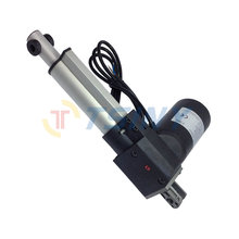 Stroke 200mm=8inches/DC 24V/4000N=881lb Linear Actuator Motor For Hospital Bed 10mm/s(China)