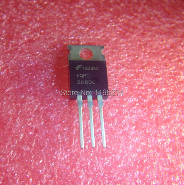 Best quality 50 pcs fqpf2n60c 2n60 field effect transistor mosfet n to-220f plastic Free shipping(China (Mainland))