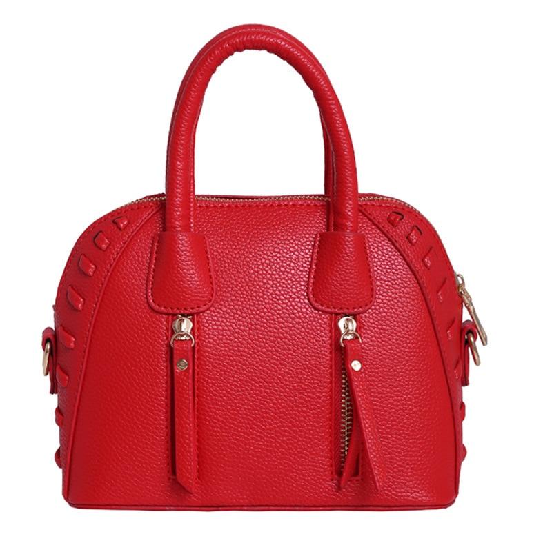 Simple Fashion Leisure Satchel New Retro Bag Lady Shell Tassel Handbag<br><br>Aliexpress