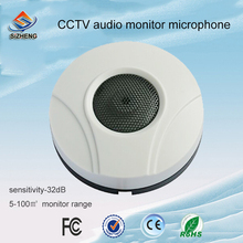 SIZHENG COTT-QD60 High sensitive video surceillance audio monitoring CCTV sound microphone for indoor environments(China)