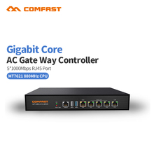 880Mhz Core Full Gigabit Gateway COMFAST CF-AC100 AC gateway controller MT7621 wifi project manager with 4*1000Mbps WAN/LAN port(China)