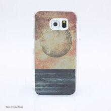 2801G Restless Moonchild Print Hard Transparent Case Cover for Galaxy S3 S4 S5 & Mini S6 S7 & edge