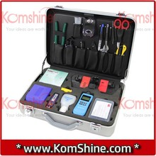 No Need Fusion Splicer to do Splicing Fiber Cables, KFS-25E Mechanical Splice ToolKit, Fiber Cleaver+3M 2529+OPM+VFL