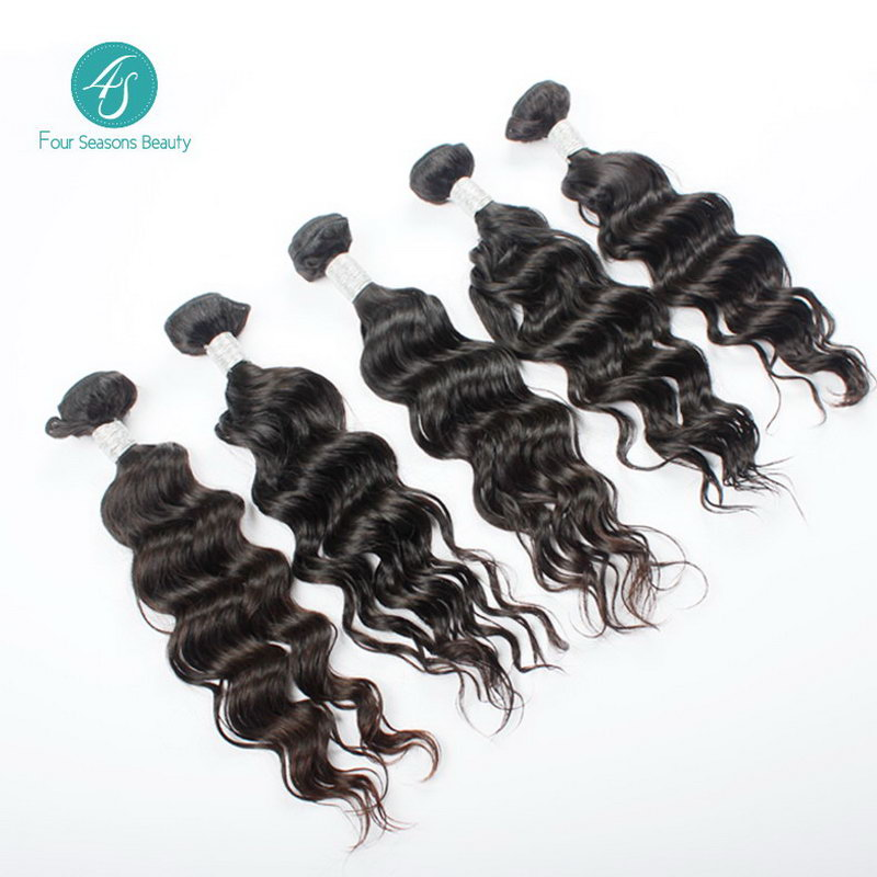 6A Indian Virgin Hair Natural Wave 10pcs 100% Unprocessed Indian Human Hair Extension Free Shipping Indian Natural Color Hair<br><br>Aliexpress