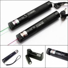 Tinhofire Laser 301 200mW High Power 532nm Green 650nm Red Laser Pointer Pen zoomable Burning Matches Lazer With Battery Charger(China)