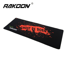Zimoon Store Large Gaming Mouse Pad Locking Edge Speed Version 30*80 CM Game Mouse Mat Desk Pad For Lol Dota 2 CS Go