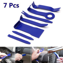 7pcs DIY Car Repair Tool Kit Hard Plastic Auto Car Radio Panel Interior Door Clip Panel Trim Dashboard Removal Opening Tool Set(China)