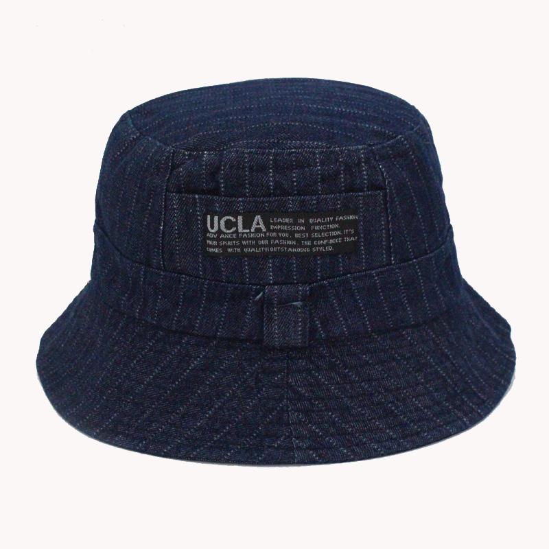 16 Fashion Cottonblend Denim Unisex Cap Bucket Hat Summer Outdoor Fishing Caps for Men and Women Flat Sun Berets HT51041+ 15