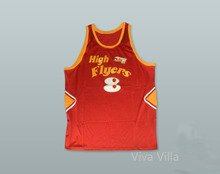1978 High Flyers 8 Red Basketball Jersey All Stitched Custom Any Number Throwback Baseball Jerseys Free Shipping Viva Villa(China)