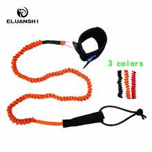 TPU Strong fabric Surfboard Coiled UP Paddle Board Leash Cord Accessories swimsuit for Surfing Foot Rope Super Quality surf sup(China)