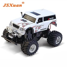 JSXuan 2017 New Rc Suv Remote Control Off Road Vehicle Great Wall Mini Electric Car Miniature Charging 1:58(China)