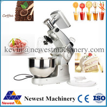 Capacity 8L electric stand mixer, food mixer, food blender, juice/cake/egg/dough mixer, milk shakes, milk mixer(China)